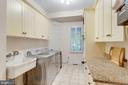 OVER SIZED LAUNDRY ROOM WITH LOTS OF STORAGE - 1030 HARVEY RD, MCLEAN