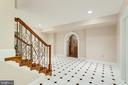 STAIRS LEADING TO WALK OUT LOWER LEVEL - 1030 HARVEY RD, MCLEAN