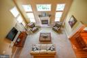 Open living room with cathedral ceilings - 21470 BASIL CT, BROADLANDS