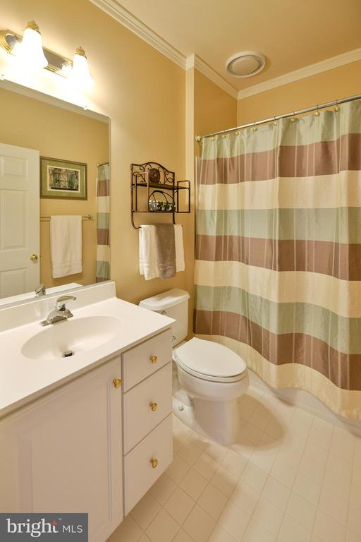 Upper level full bathroom - 21470 BASIL CT, BROADLANDS