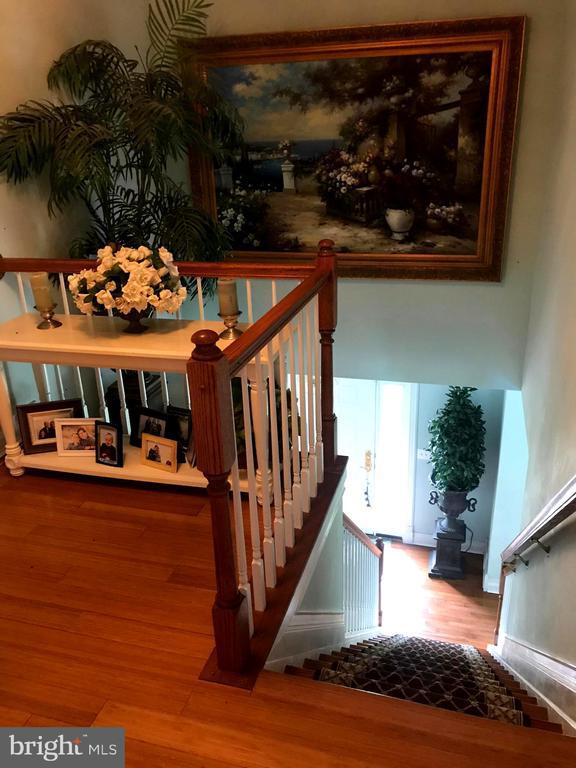Wood floors throughout  1st & 2nd floors - 504 CREEK CROSSING LN, GLEN BURNIE