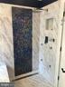 Marble shower w/tile inlay ~ HEATED FLOORS! - 504 CREEK CROSSING LN, GLEN BURNIE