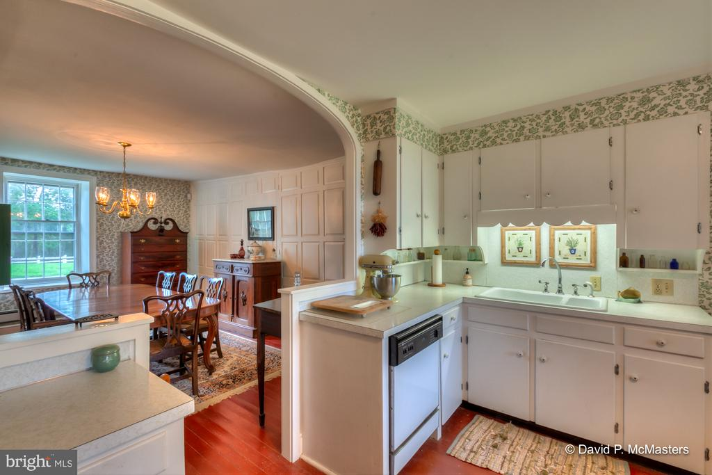 2nd Kitchen. House layout allows for 2 families! - 1208 BEDINGTON RD, MARTINSBURG