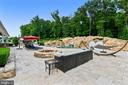 Propane firepit, travertine patio - 14416 LOYALTY RD, LEESBURG