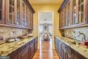 Butlers pantry/catering area - 14416 LOYALTY RD, LEESBURG
