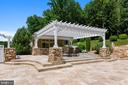 Pool house with  outdoor bar and grill to enjoy - 14416 LOYALTY RD, LEESBURG