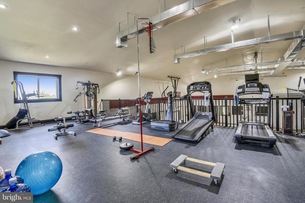 Fitness area - 14416 LOYALTY RD, LEESBURG