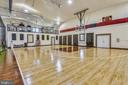 Regulation half court basketball and fitness room - 14416 LOYALTY RD, LEESBURG