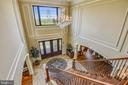 Elegant (and automated) crystal chandelier - 14416 LOYALTY RD, LEESBURG