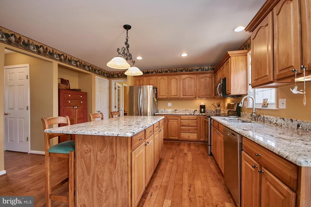 Granite and Stainless Steel Appliances - 19187 SWAN CT, PURCELLVILLE