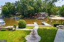 STAMPED CONCRETE WALKWAYS WITH WATER FOUNTAIN - 100 HARBOURVIEW DR, LOCUST GROVE