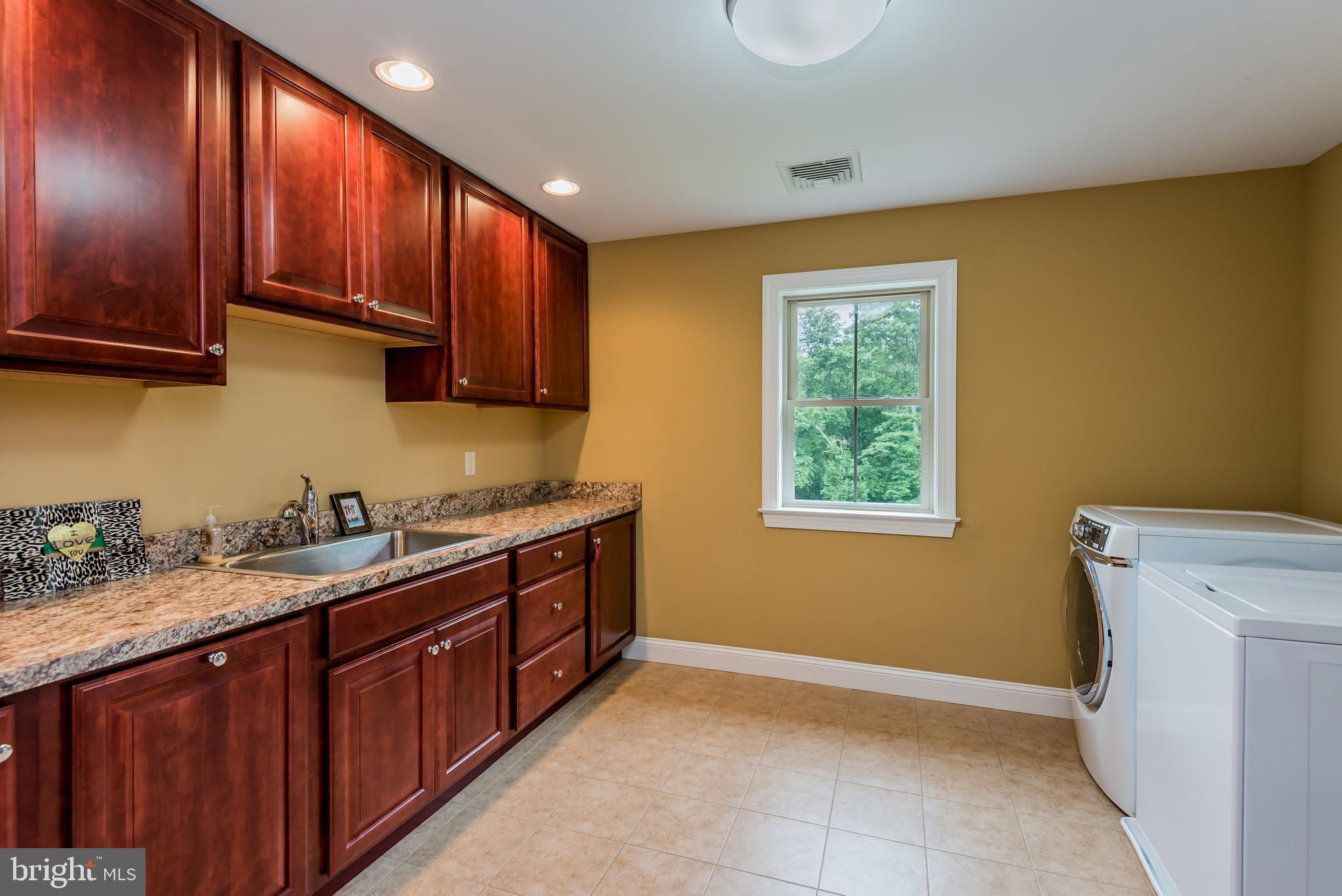 HUGE Laundry Room!