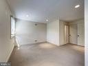 Third level bedroom with walk-in closet - 4412 WALSH ST, CHEVY CHASE