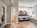 Bright & airy spa bath - 4412 WALSH ST, CHEVY CHASE