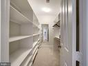 Owner's suite walk-in closet - 4412 WALSH ST, CHEVY CHASE
