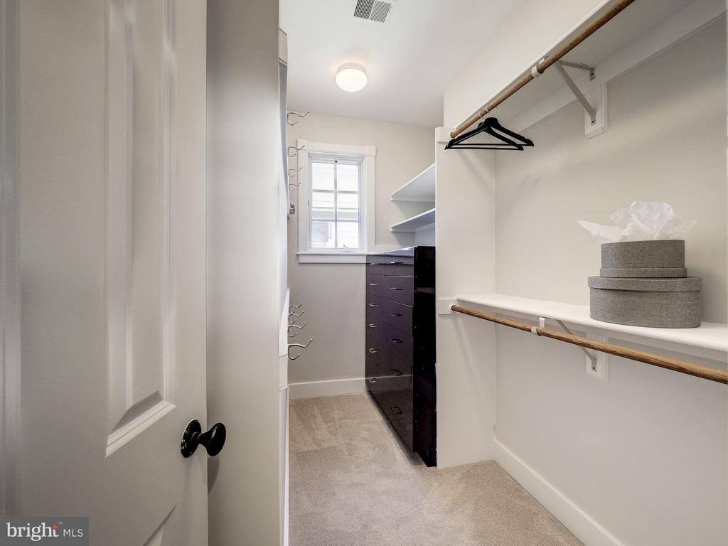 Owner's suite second walk-in closet - 4412 WALSH ST, CHEVY CHASE