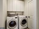 Second level laundry room - 4412 WALSH ST, CHEVY CHASE