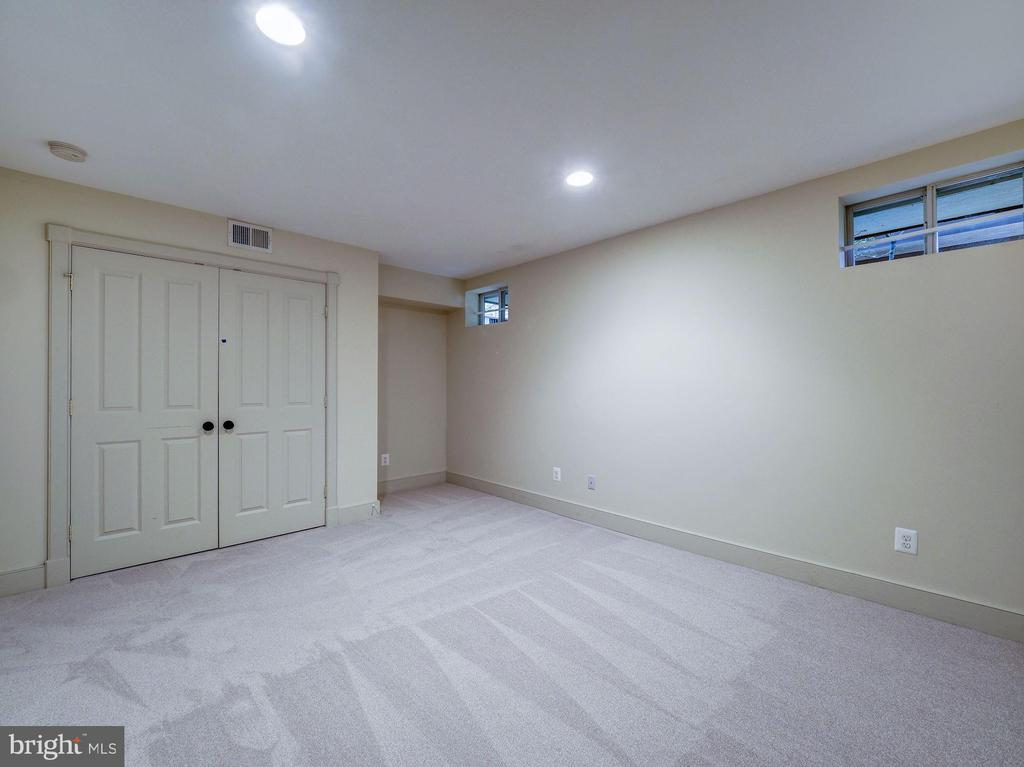 Lower level den / office, potential BR - 4412 WALSH ST, CHEVY CHASE