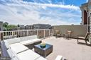 Rooftop Terrace - Just Add Your Grill or Bar - 3965 OAK ST, FAIRFAX