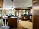 Natural cherry custom cabinetry - 4412 WALSH ST, CHEVY CHASE