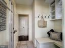 Mud room - 4412 WALSH ST, CHEVY CHASE