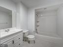 Lower level full bathroom (#4) - 4412 WALSH ST, CHEVY CHASE