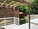 Tiered Deck with pergola - 16639 CAXTON PL, DUMFRIES