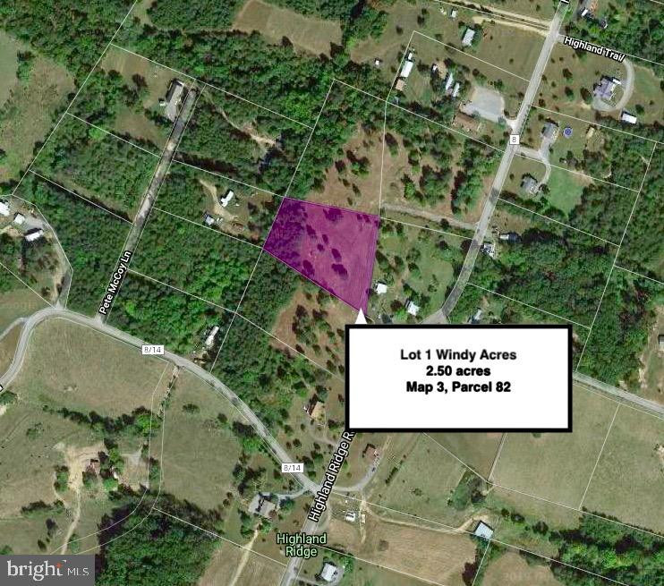 Land for Sale at Lot 1 Highland Ridge Rd Berkeley Springs, West Virginia 25411 United States