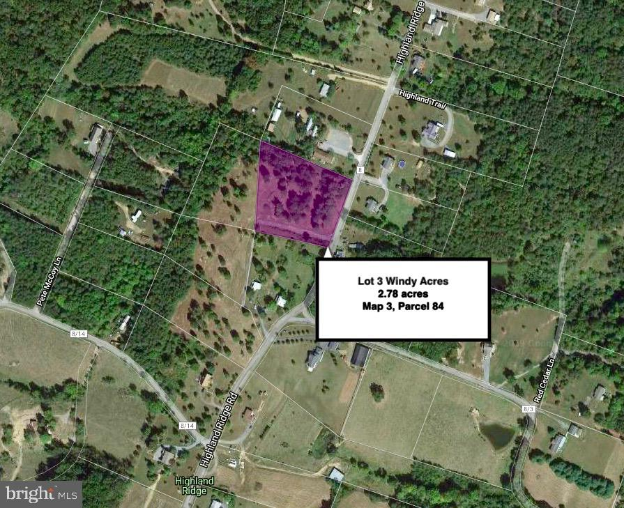 Land for Sale at Lot 3 Highland Ridge Rd Berkeley Springs, West Virginia 25411 United States