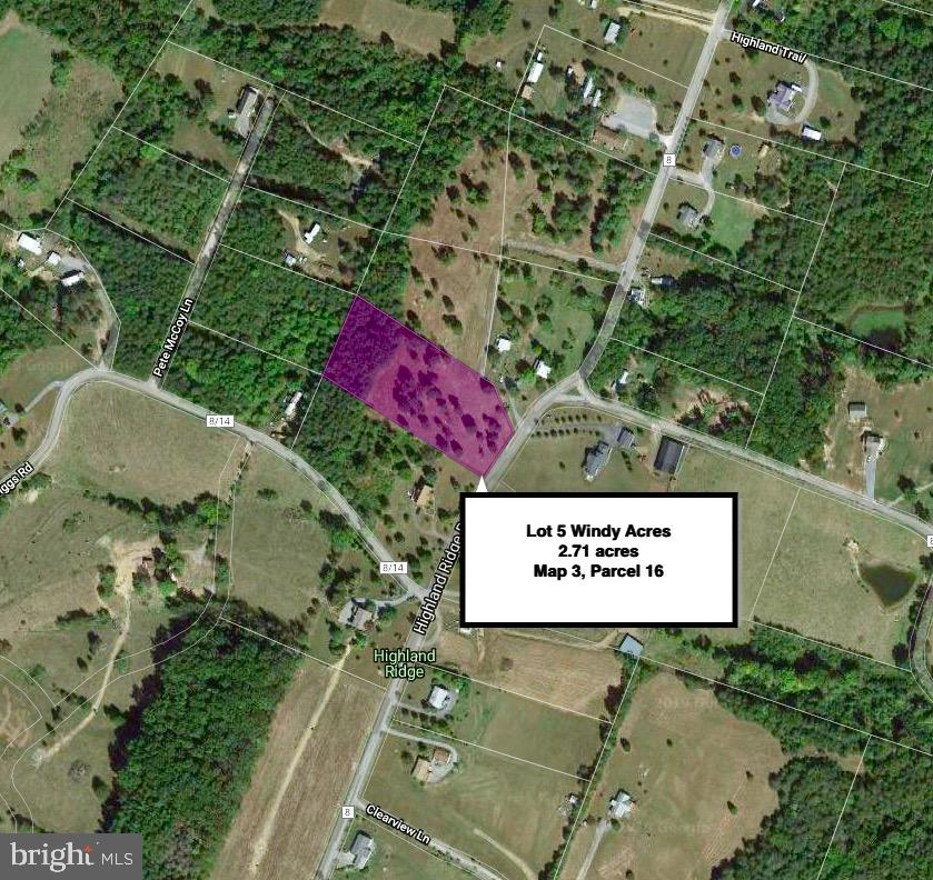 Land for Sale at Lot 5 Highland Ridge Rd Berkeley Springs, West Virginia 25411 United States