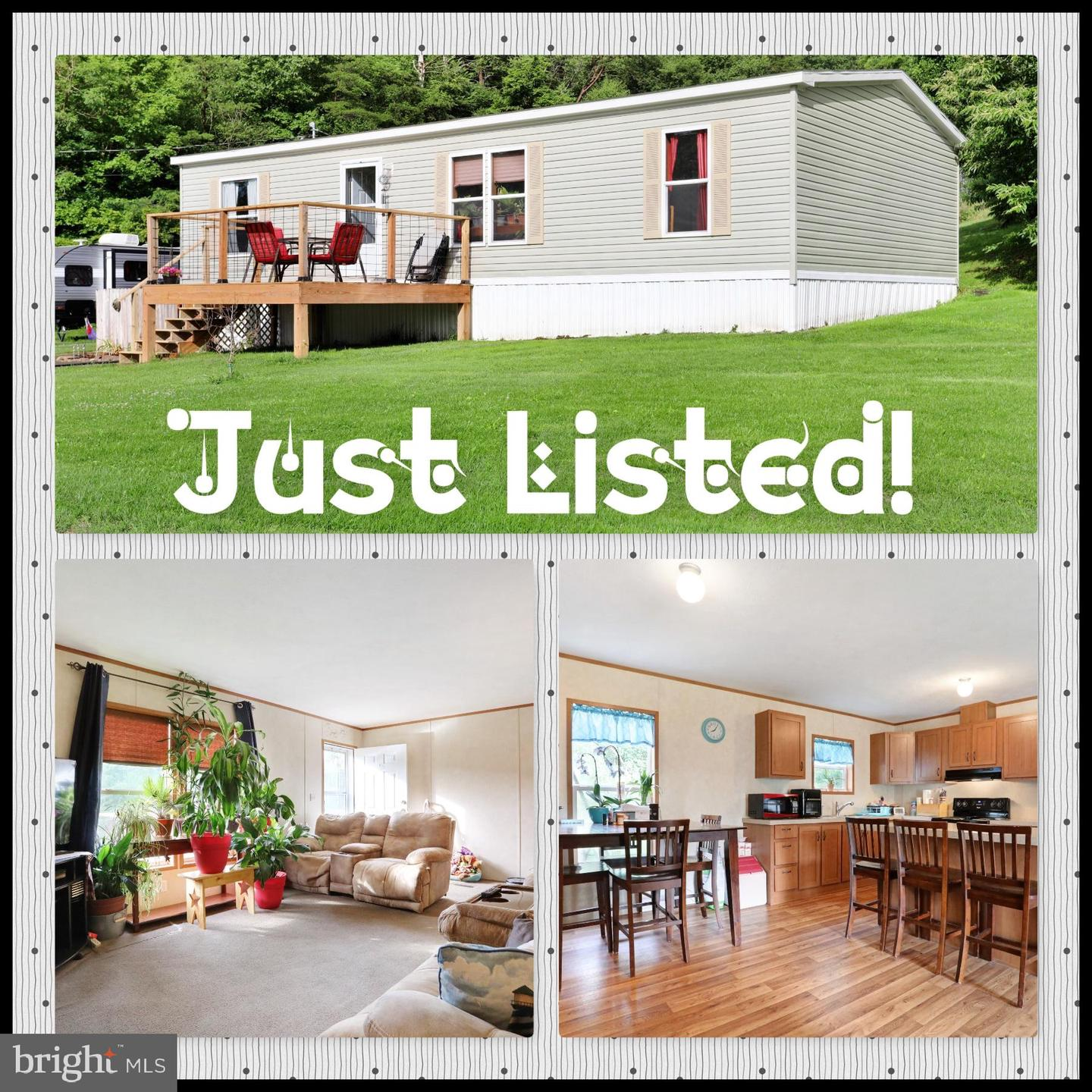 Single Family for Sale at 1242 Creek Rd Berkeley Springs, West Virginia 25411 United States