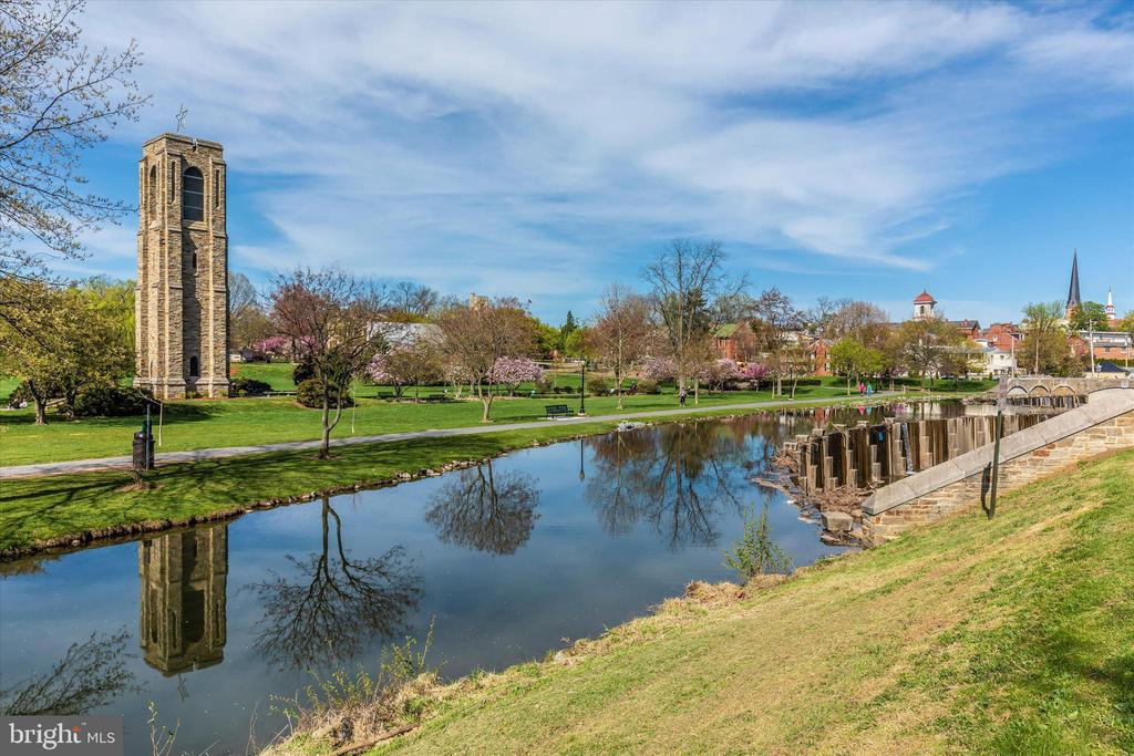 Stroll a block to Baker Park - 203 ROCKWELL TER, FREDERICK