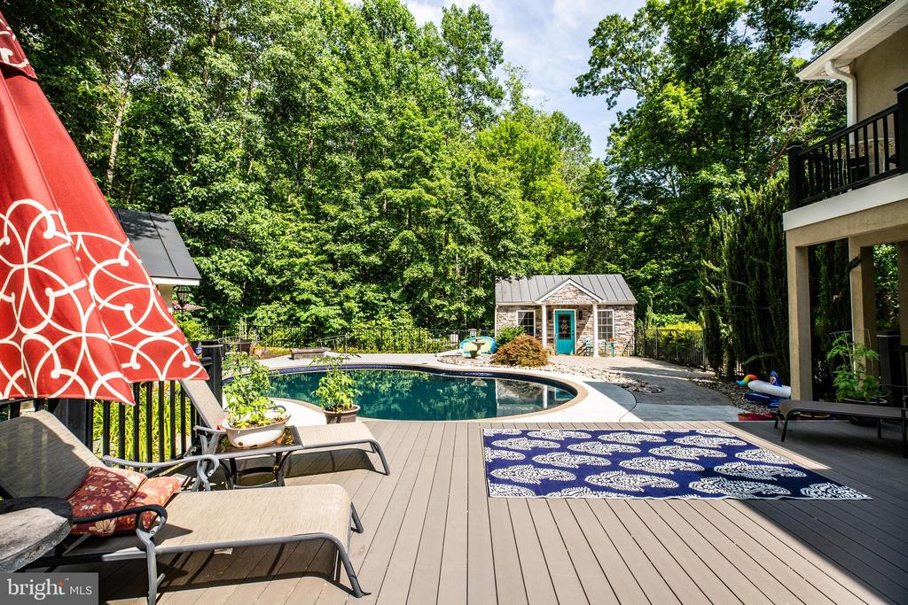 Incredible outdoor living space - 36 BETHANY WAY, FREDERICKSBURG