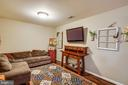 Lower Level Recreation Room - 36 BETHANY WAY, FREDERICKSBURG