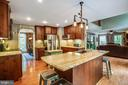 Huge kitchen & Family room - 36 BETHANY WAY, FREDERICKSBURG