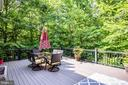 Huge private, multi tiered deck - 36 BETHANY WAY, FREDERICKSBURG