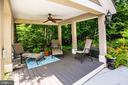 Custom built Gazebo - 36 BETHANY WAY, FREDERICKSBURG