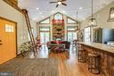 Soaring ceilings, custom light fixtures! - 36 BETHANY WAY, FREDERICKSBURG