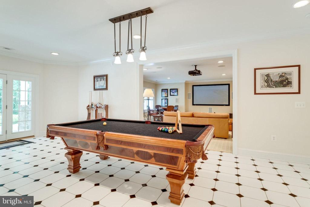 POOL AREA OFF OF FAMILY ROOM - 1030 HARVEY RD, MCLEAN