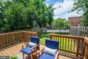 A lush green backyard great for BBQ - 3463 23RD ST SE, WASHINGTON
