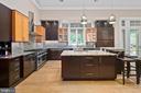 Gourmet Chef's Kitchen w/2 Farmer Sinks - 11304 HUNTOVER DR, NORTH BETHESDA