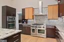 Gourmet Kitchen w/3 Ovens & 6 Burner Stove-top - 11304 HUNTOVER DR, NORTH BETHESDA