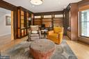 Library/Office w/ Built-ins - 11304 HUNTOVER DR, NORTH BETHESDA