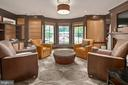 Library/Office w/Fireplace - 11304 HUNTOVER DR, NORTH BETHESDA