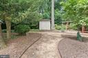 Backyard - 11304 HUNTOVER DR, NORTH BETHESDA