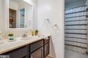 Second full bath - upper level - 13304 BROOKCREST CT, FREDERICKSBURG