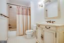 Additional full bath for guests - 13304 BROOKCREST CT, FREDERICKSBURG