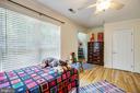 Bedroom #2  upper level - 13304 BROOKCREST CT, FREDERICKSBURG
