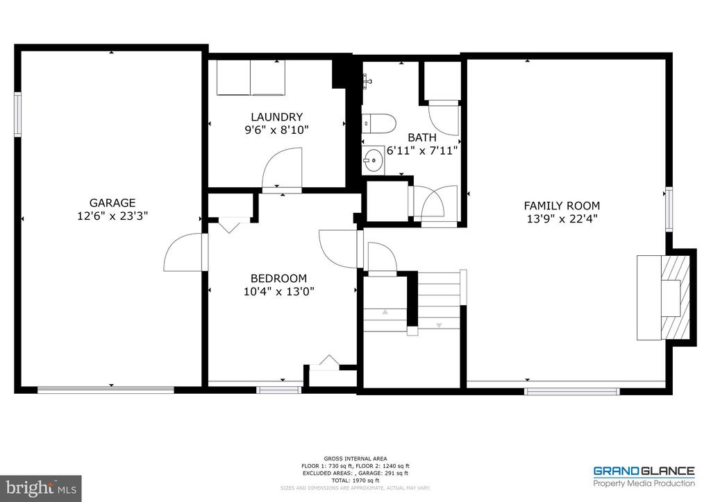 The Lower Level Floor Plan - 8405 TERRA WOODS DR, SPRINGFIELD
