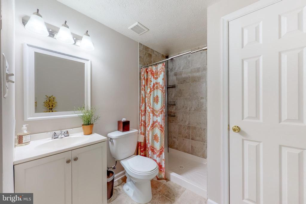 Spacious Lower Level Bath - 8405 TERRA WOODS DR, SPRINGFIELD